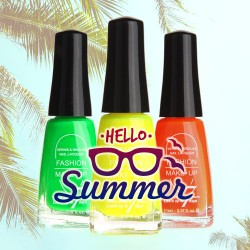 DESTOCKAGE Vernis fluo Summer