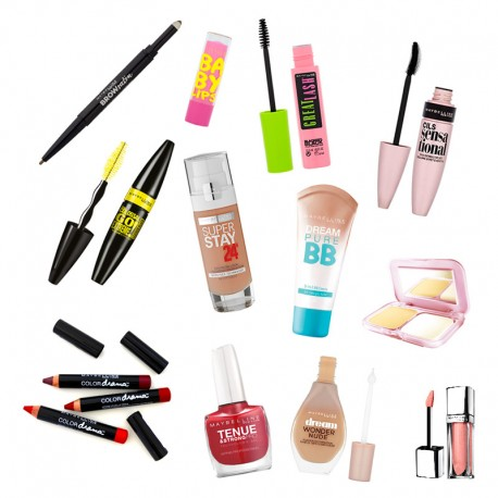 Lot maquillage Gemey Maybeline