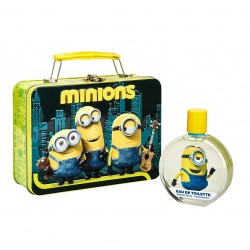 Eau de toilette Minions 100ml + valisette metallique