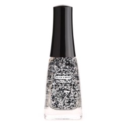 Pack de 10 Vernis à ongles Black & White - FMU