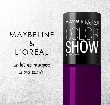 lot Maybeline l'Oréal