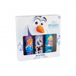 Set d'eau de toilette Frozen 3x100ml